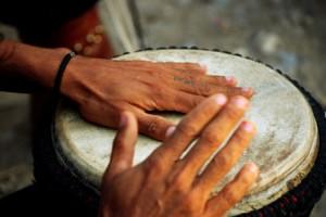 cours de djembe en ligne de Patrice Effoudou
